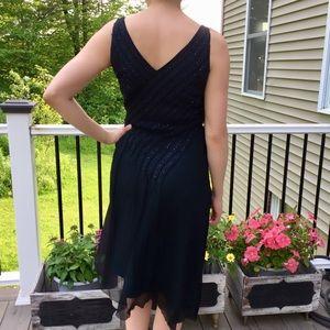 A Beaded Chiffon Adrianna Papell Dress